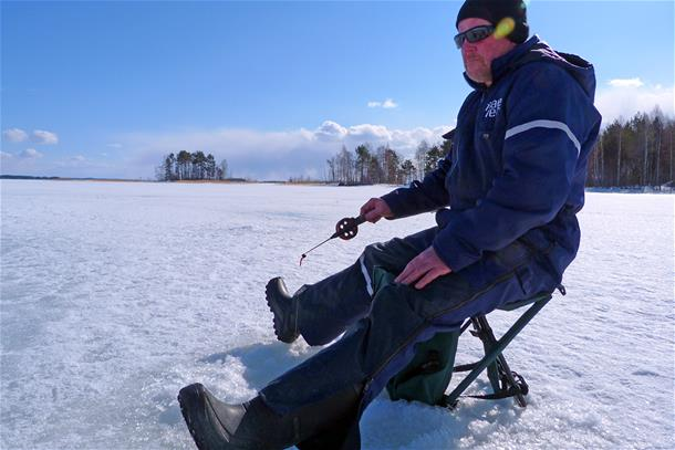 Traditional Ice Fishing trip